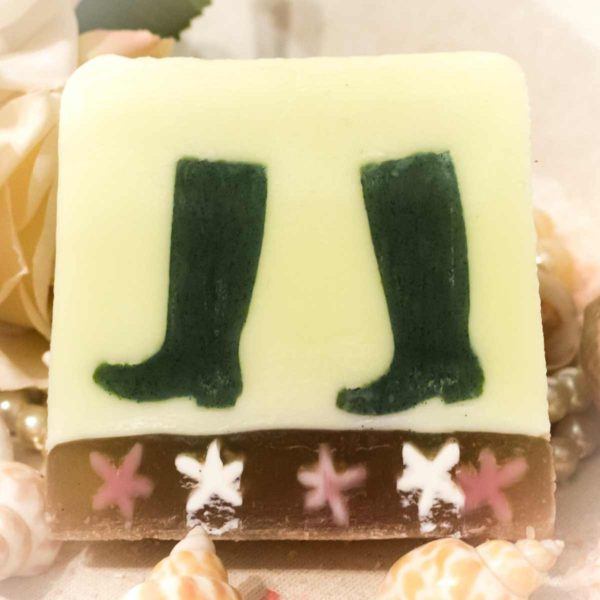 Star Riders Horse Riding Boots Soap Yummy Bubbles