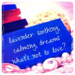 Love lavender soap