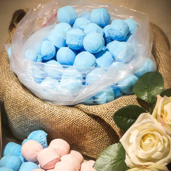 Ylang Ylang & Patchouli scented mini bath bombs chill pillsYlang Ylang & Patchouli scented mini bath bombs chill pills