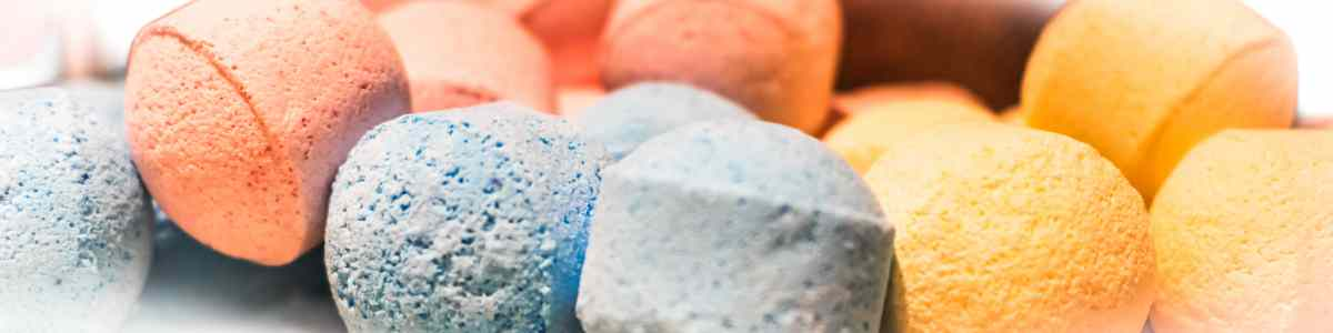 Chill Pill Mini Bath Bombs